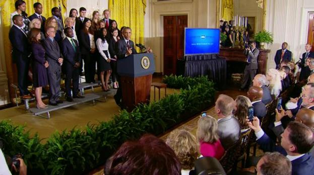 Obama recibe empresarios minoritarios en la Casa Blanca