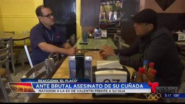 Video: 'El flaco' Elizalde reacciona a muerte de su cuñada