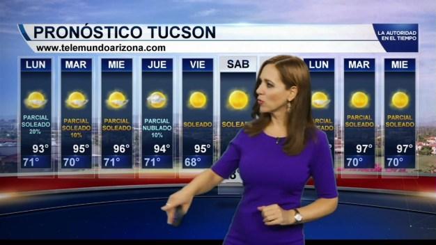 Phoenix esta noche con temperatura mínima de 82ºF