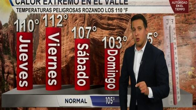 Altas temperaturas continúan afectando el estado