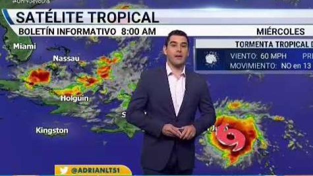 Boletín del miércoles 8am sobre la tormenta Dorian