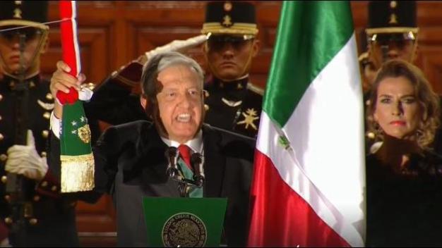 Ceremonia del Grito de Independencia de México