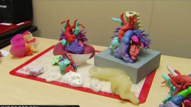 Corazones en 3D para bebés y niños