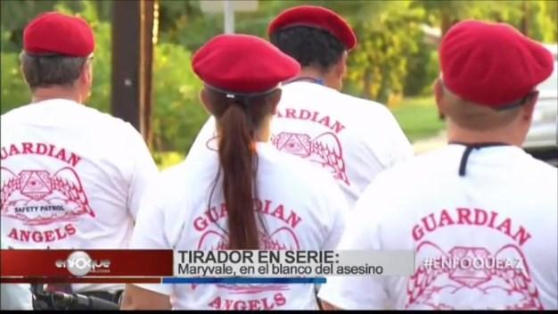 Ángeles Guardianes y asesino serial en Maryvale