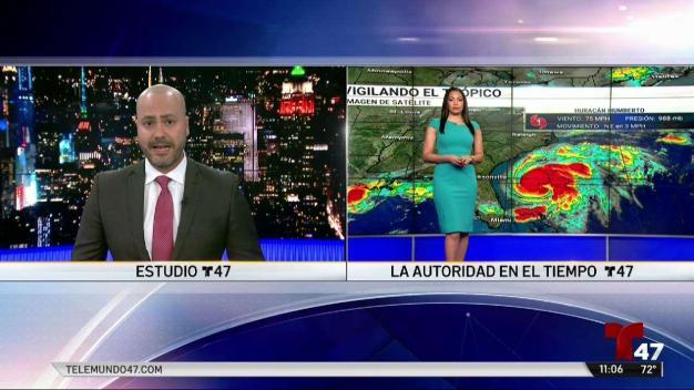 Humberto se fortalece y se convierte en huracán