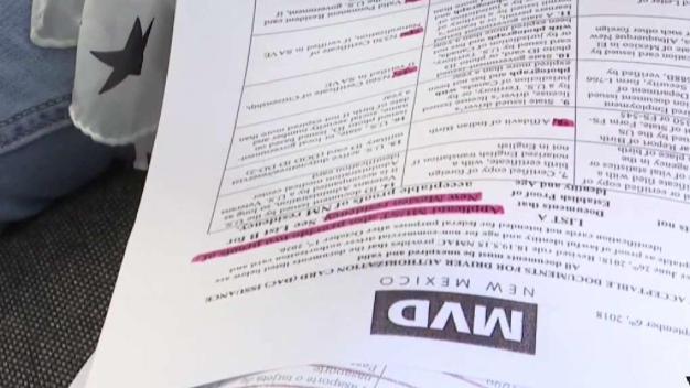 Indocumentados podrán obtener licencias en NM