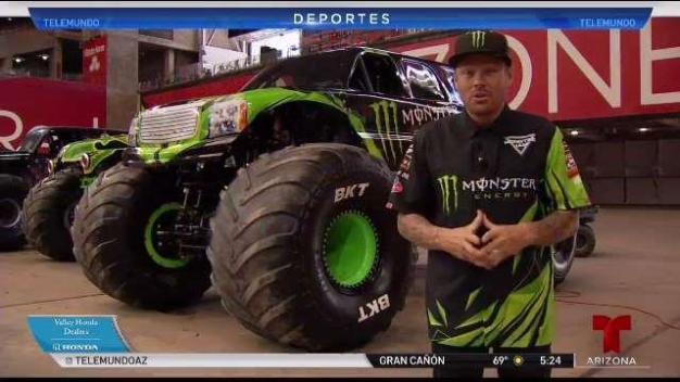 Monster Jam llega a Arizona