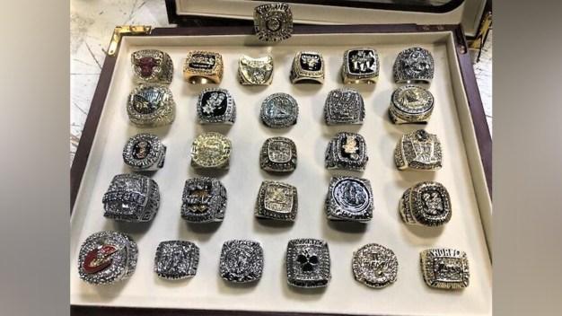 Confiscan anillos de campeonato falsos de la NBA