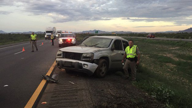 Reabren autopista 10 tras mortal accidente  en Willcox