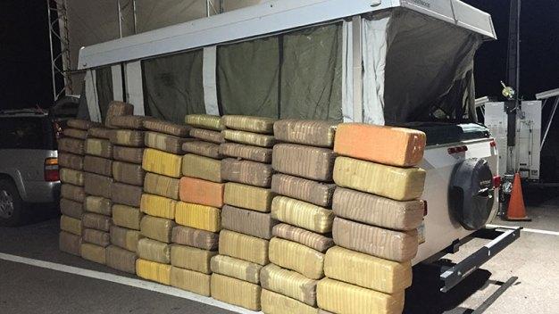 Frontera: Decomisan alta cantidad de marihuana