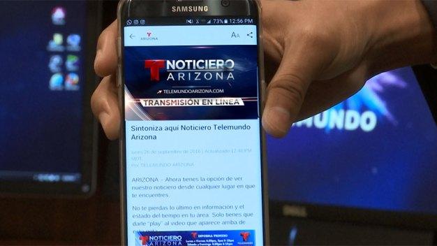 Noticiero Telemundo Arizona desde cualquier parte del mundo