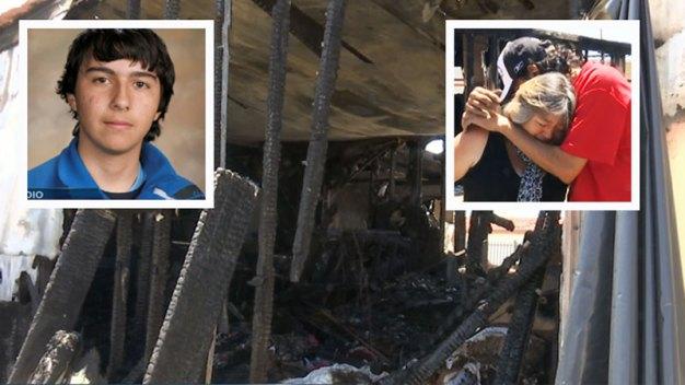 Fotos: Voraz incendio deja bajo luto a familia del Valle