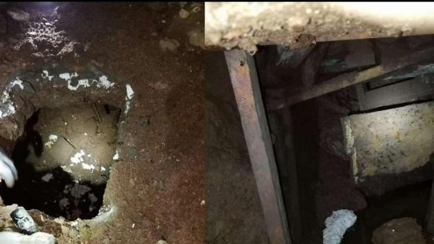 Patrulla fronteriza: túnel hallado fue excavado a mano
