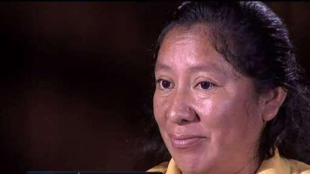 Madre detalla separación de su hijo en la frontera