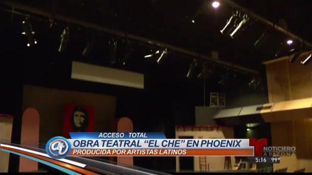 """Personifican la vida del """"Che"""" Guevara en Phoenix"""