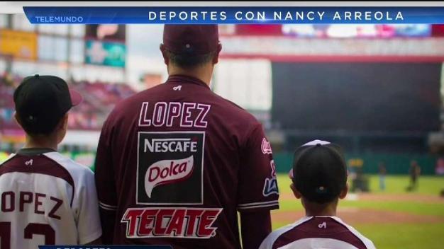 Tomateros retiran número de Rodrigo López