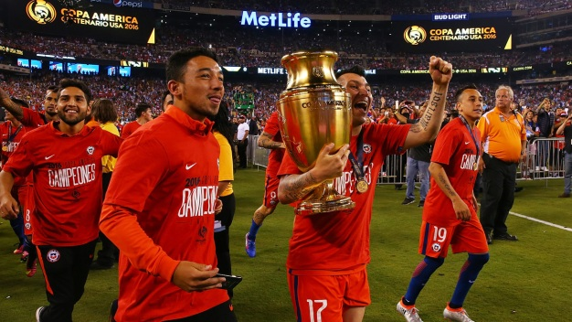Chile derrota a Argentina y se corona en la Copa América