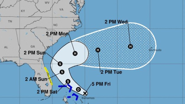 Depresión tropical no afectaría a Florida