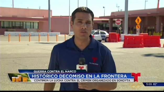 Video: Continúa ofensiva contra el narcotráfico en Sonoyta