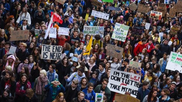 Marchan en todo el mundo contra el cambio climático