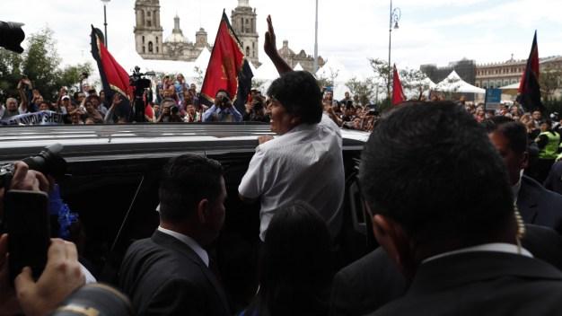 Evo Morales es reconocido en la Ciudad de México