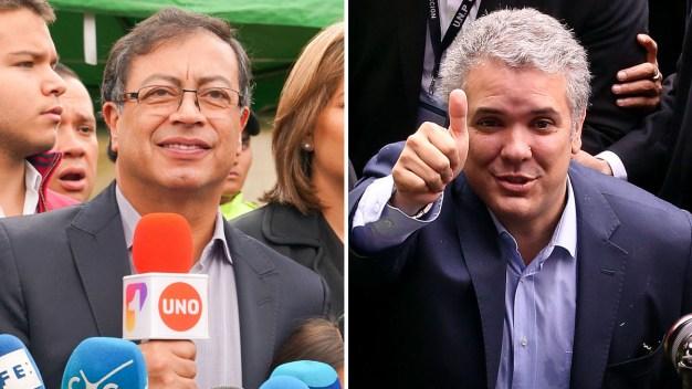 Elecciones en Colombia: Duque y Petro a segunda vuelta