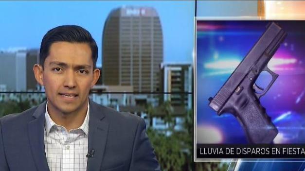 Lluvia de balas en fiesta de Tucson