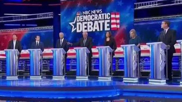 Nuevo debate de precandidatos demócratas en Ohio}