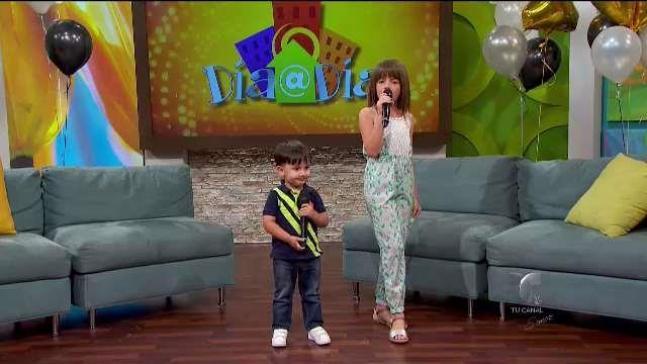 Los Mini Pimpinela: Diego y Camila llegan a Telemundo