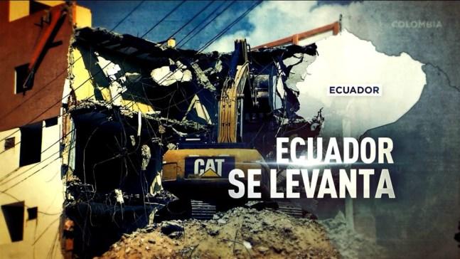 Programa especial a tres meses del terremoto