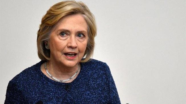 Retiran credenciales de seguridad a exsecretaria de Estado Hillary Clinton