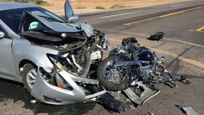 Hombre al borde de la muerte tras accidente