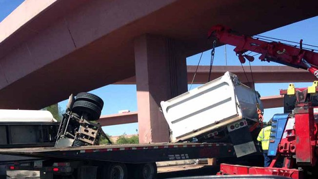 Caos vial por accidente en el I-10