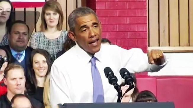 Visita de Obama deja a muchos contentos