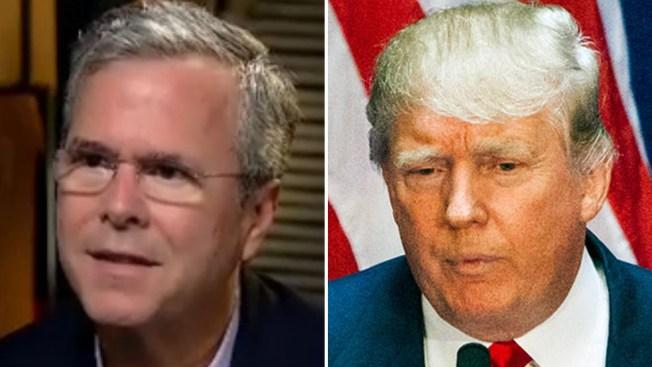"""Bush dice que Trump habló de modo """"vulgar"""""""