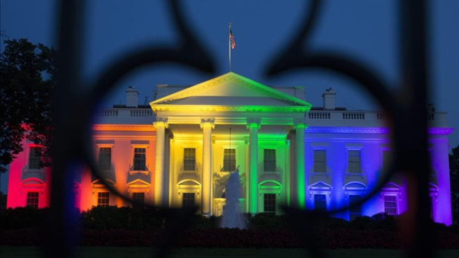 La Casa Blanca se pinta de arcoíris