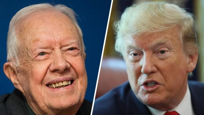 Jimmy Carter afirma que Trump es un presidente ilegítimo por la trama rusa