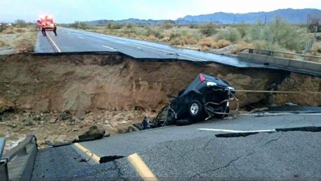 Arizonenses enfrentan caos tras caída de puente