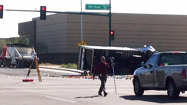 Muerte en Phoenix tras aparatoso accidente