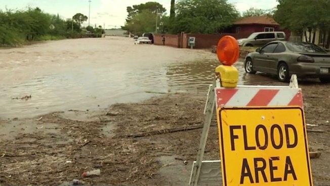 Zonas de posibles inundaciones en Tucson