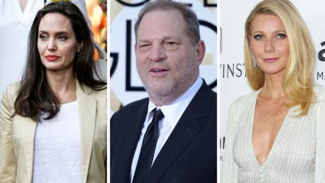 Jolie y Paltrow hacen acusaciones contra Weinstein