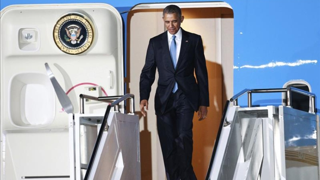 Obama llega a Kenia, tierra de su padre