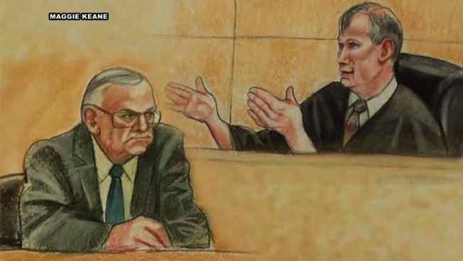 En corte: Arpaio regresa para declarar por desacato