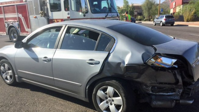 Niños y adultos heridos durante accidente