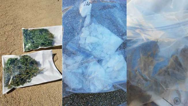 Descubren drogas y plantación de marihuana en Peoria