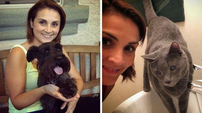 Karla Gómez-Escamilla y sus adoradas mascotas