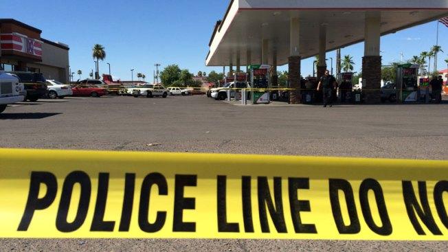 Caos tras búsqueda y tiroteo en Glendale