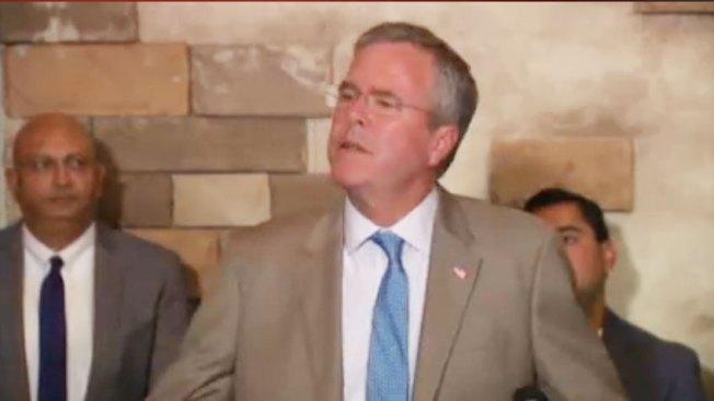 """""""Bebés ancla"""": Bush intenta aclarar el tema"""
