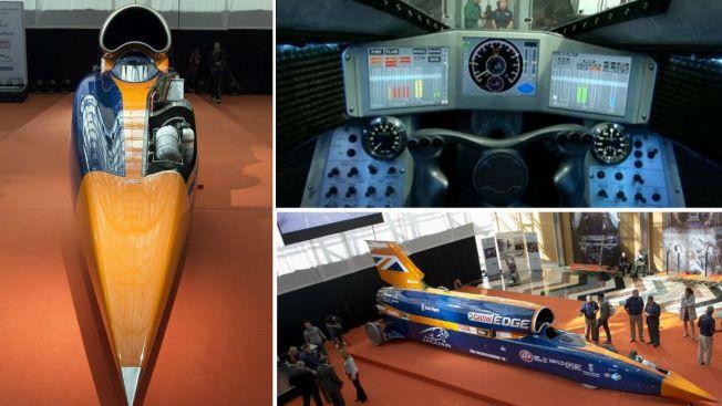 Auto supersónico podría correr a 1,000 mph