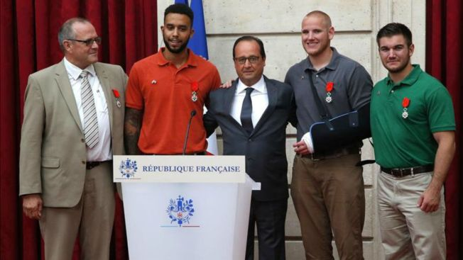 Francia: tributo a héroes que frustraron ataque